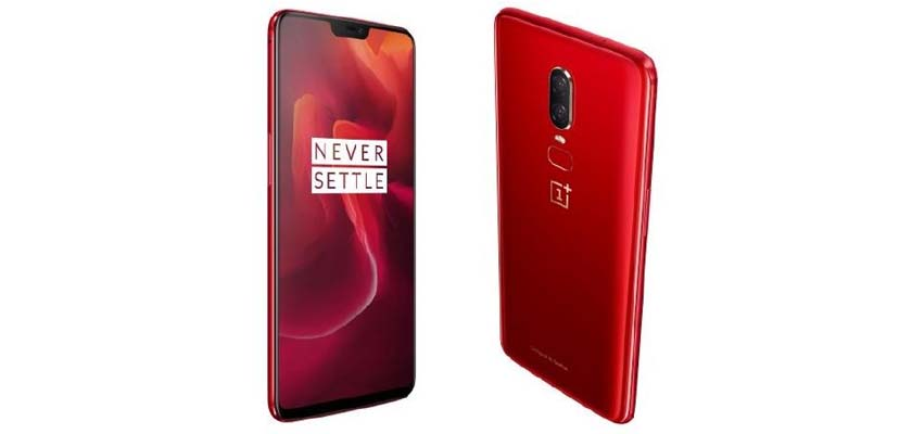 OnePlus 6 Amber Red Edition Price in UAE, Sharjah Dubai Abu