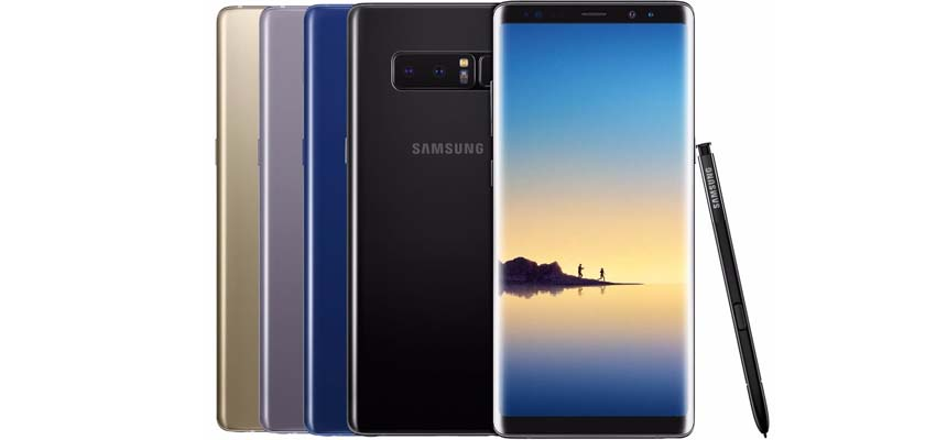 Galaxy Note8 Price in USA, New York City, Washington, Boston, San Francisco